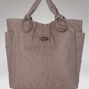 Marc by Marc Jacobs Taupe nylon tote